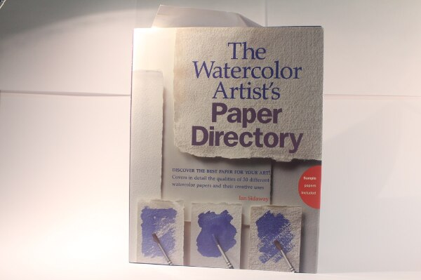 The Watercolor Artists paper directory box for sale  Mississauga