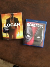 Logan & Deadpool Blu-ray/DVD