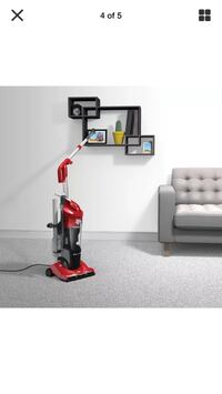 red and black upright vacuum cleaner Surrey, V3S 4A4