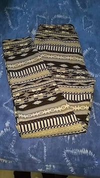 brown and black striped textile Chamberlain