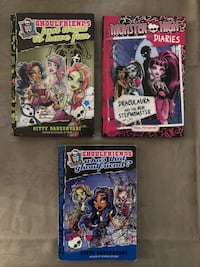 Monster High Books (3 in total) Vaughan
