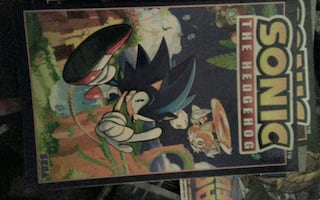 Two Sonic graphic novels mint condition volumes 1 and 4