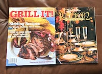 2 x His & Hers cooking magazines Montréal
