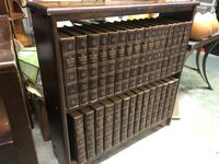 1952 Encyclopedia Americana 30 volume set sitting on shelves from same era , very nice looking set Surrey, V3V 7L9