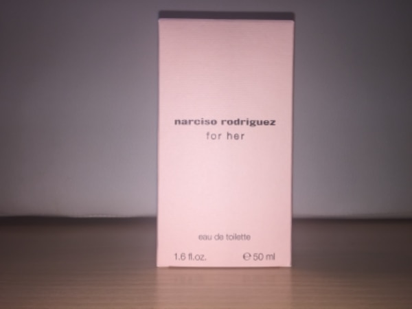 Narciso Rodriguez for her 50 ml