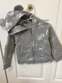 Disney Grey and Silver hoodie - 3T Surrey, V3S 9E1