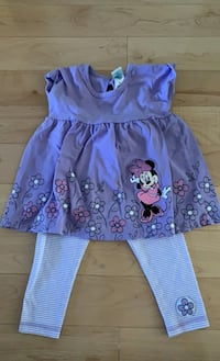 Baby Girl Minnie Mouse set 18 months Mississauga, L5B 0C5