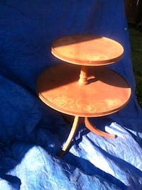 Rare Vintage Antique Tier table from the 1930's Los Angeles