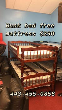Bunk bed FREE MATTRESS
