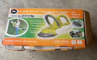 Almost new hedge trimmer