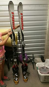 volkl skis with marker binders, poles and boots El Cajon, 92021