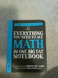 Everything You Need To Ace Math book Calgary, T3M 0J1