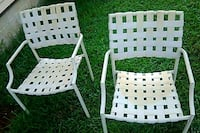 2 patio chairs Hoover