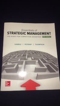 Strategic management for business textbook  Burlington, L7R 1J8