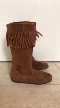 Real suede BOHO chic boots Toronto, M6G 3G8