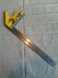 STEEL RULER WITH SQUARE Des Moines, 50310