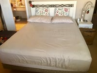 white and gray bed sheet Edmonton, T6G