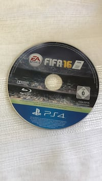 Sony PS4 FIFA 16 Blu-Ray-plate
