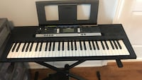 black and white electronic keyboard Mississauga, L5W 1T7