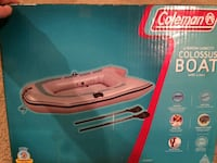 Pink Coleman inflatable boat box Boyds, 20841