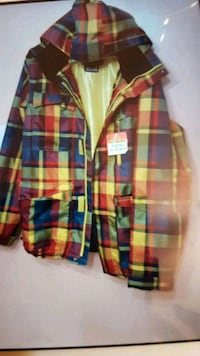 green, red, and blue plaid sport shirt Toronto, M3J 1W2