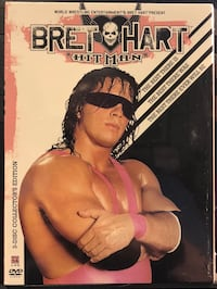 "Bret ""Hitman"" Hart (3-Discs): New DVD, still in original wrap with security seals. Jackson, 39201"