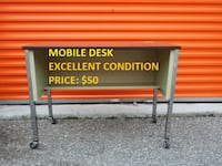 Mobile Desk, Excellent Condition, Cheap Price! Mississauga