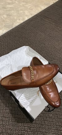 pair of brown leather loafers Surrey, V3V 1Y5