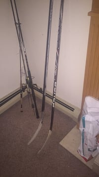 Bauer vapour and Nike left handed hockey sticks 25 3729 km