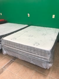 Queen Mattress And Boxspring, Double Sided Fall River, 02720