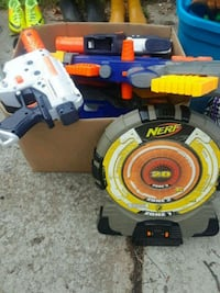 Huge lot of NERF guns etc 25.00