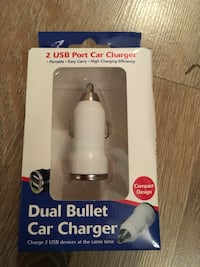 2 USB port car charger new With box  Birmingham, B42 1SH