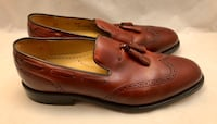 Men's Johnston & Murphy Leather Tassel Dress Shoes Size 9  Kent, 44240