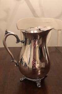 WM Rogers 817 Silver Vintage Water Pitcher Silver Spring, 20902