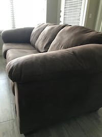 Brown couch - Full size Dallas, 75235