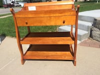 Changing table solid wood Omaha, 68138