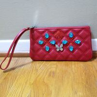 MARC JACOBS Quilted Leather Wristlet  Springfield, 22151