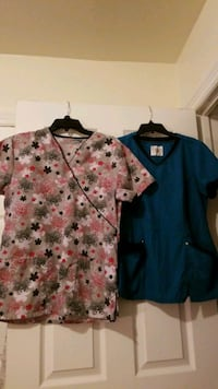 2 - Size Small Scrub top  for $5 Hopewell
