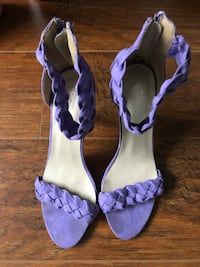 Purple Sandals size 7 New Westminster, V3L 0E3