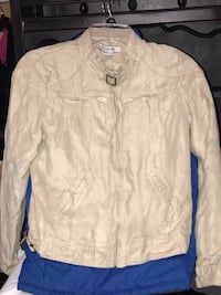 NEW forever 21 tan jacket/coat- Womens/juniors size small Galt, 95632