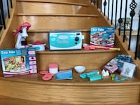 Easy Bake oven with tons of accessories and food Edmonton, T6H 3A8