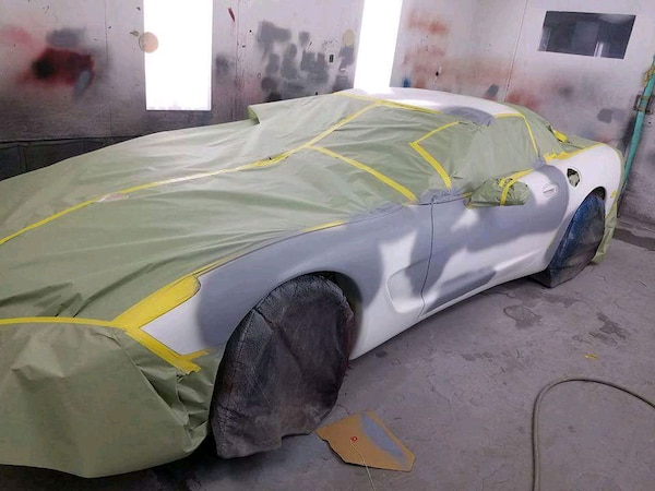 Body shop and paint