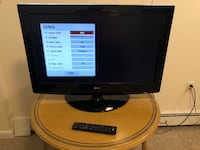 LG Flat Screen TV w/ remote Silver Spring, 20902