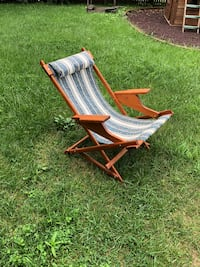 brown and white wooden rocking chair Great Falls, 22066
