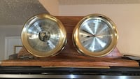 SHIPS CLOCK BRASS WITH WOOD Port Richey, 34668