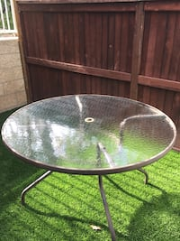 Patio dining table