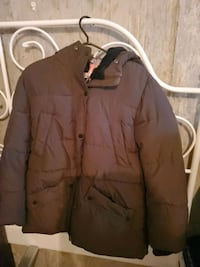 Brown winter jacket