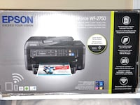 Epson All-in-one WF 2750 Printer Charlotte, 28216
