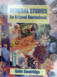 General Studies coursework book A- level 13089 km