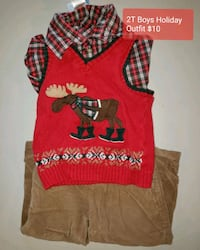2T BOYS HOLIDAY OUTFIT  Leesburg